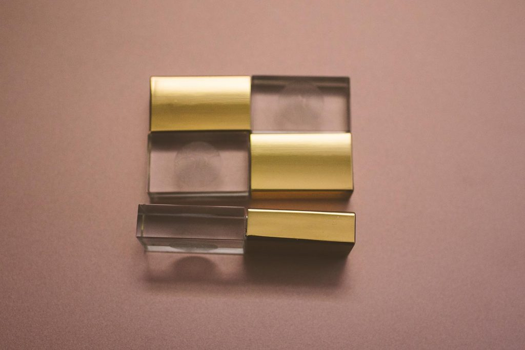Gold USB Drives For Boudoir Photography