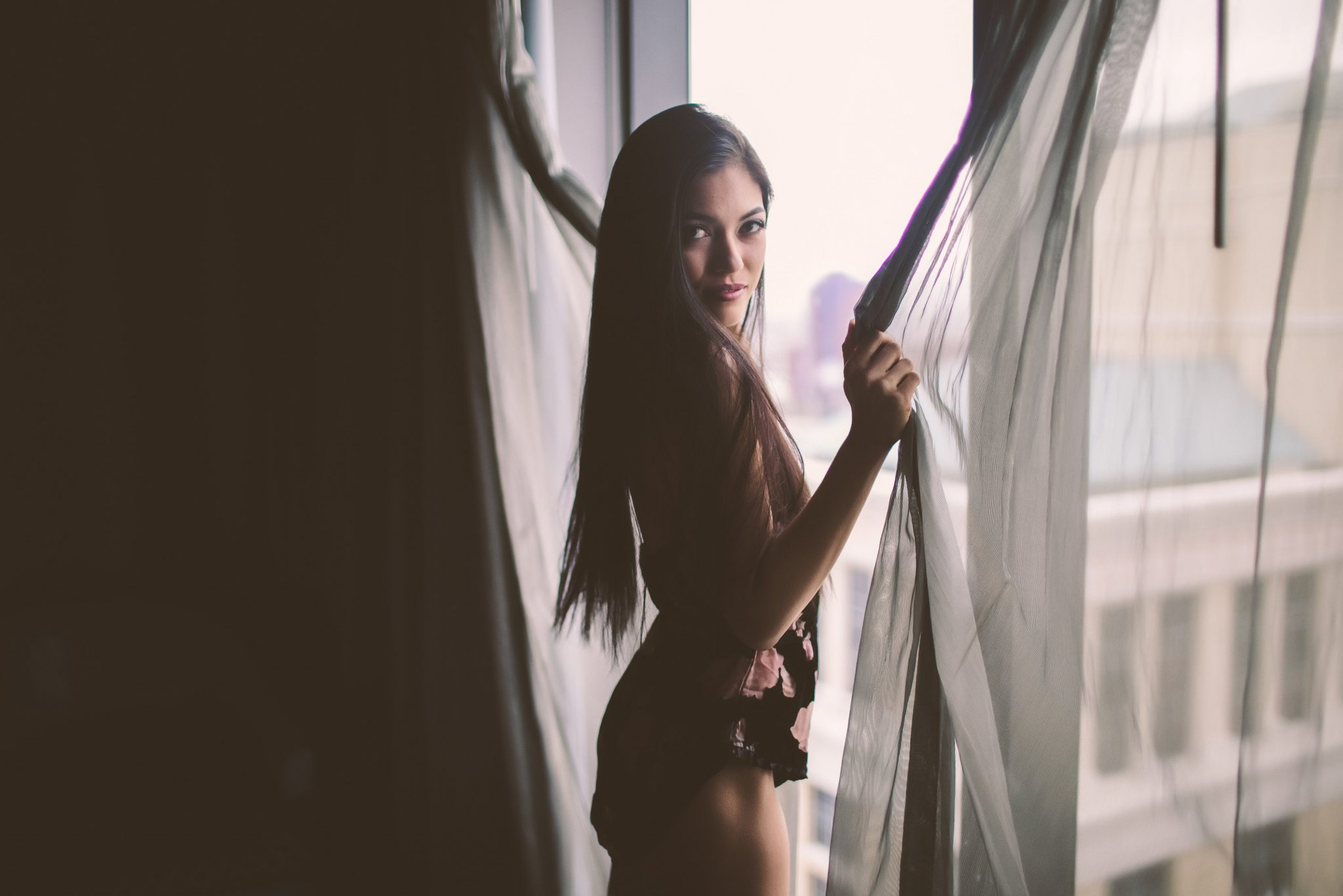 A boudoir photo shoot for Valentine's Day