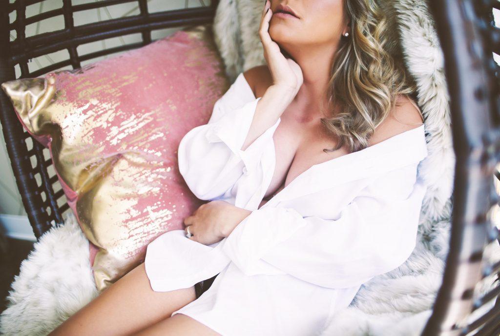 A boudoir shoot in Industry City