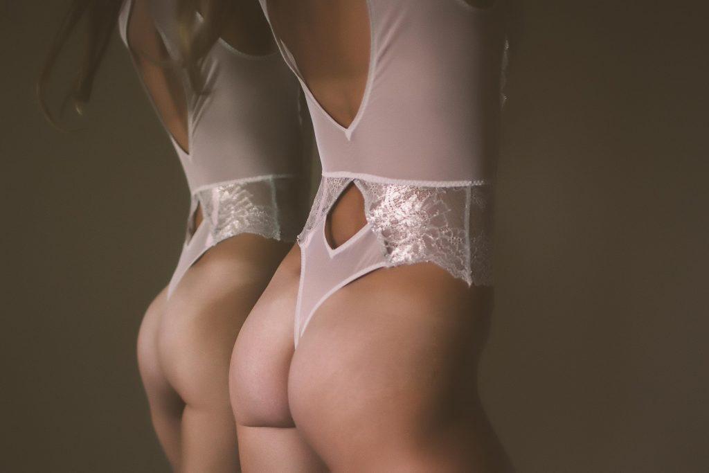A up close boudoir photo