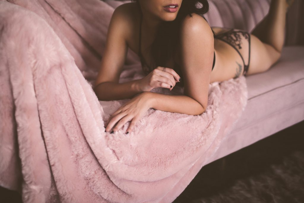 A boudoir session in Brooklyn