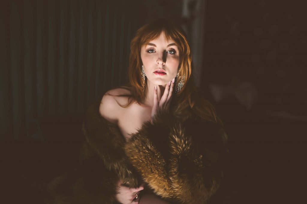 boudoir modest outfit