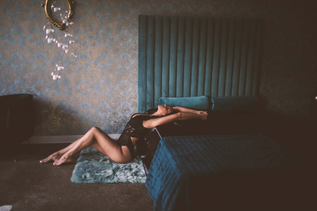 nyc boudoir shoot